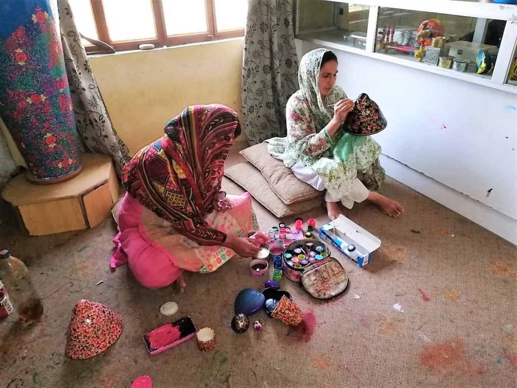 Craftwork at PODA Pakistan